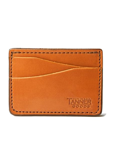 Tanner Goods Journeyman Wallet - Saddle Tan