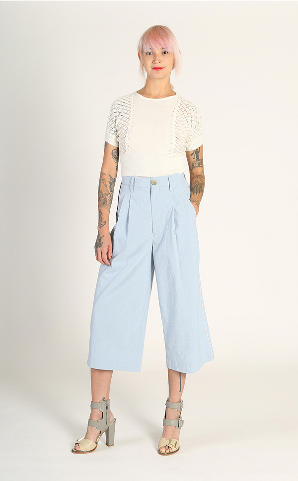 Kurt Lyle Sue Ellen Culottes - Blue
