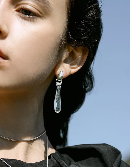 Cled Drop Counts Earrings