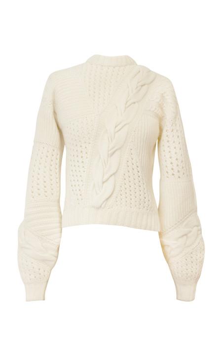Alejandra Alonso Rojas Eco Cashmere Sweater - Ecru