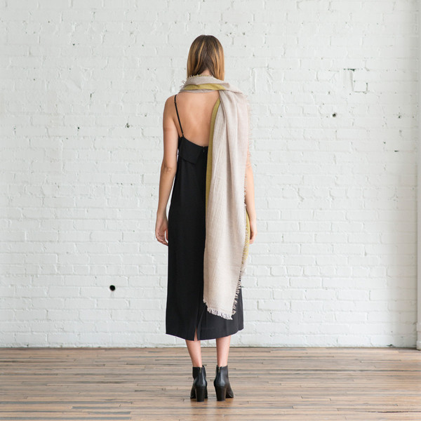 Humanoid Long Rectangular Wrap Leaf - SOLD OUT
