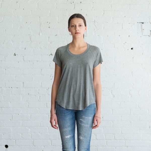 Isabel Marant Etoile Diego Tee Grey - SALE $60
