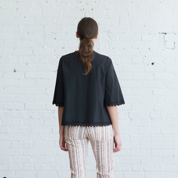 Isabel Marant Etoile Dill Top Black $410