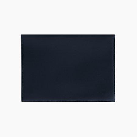 """Poketo Large 13"""" Minimalist Folio - Navy"""