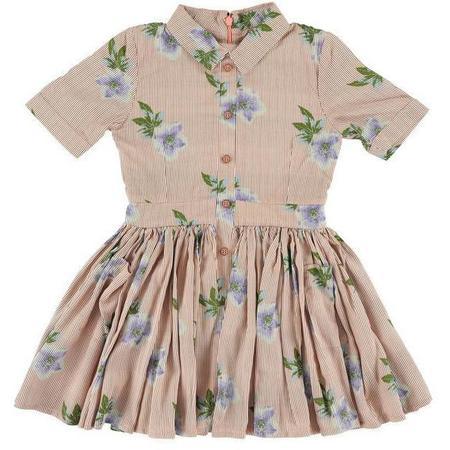 Kids Morley Karen Flowerprint Dress - Rose