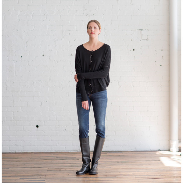 Paychi Guh Reversible Cardigan Black - SOLD OUT