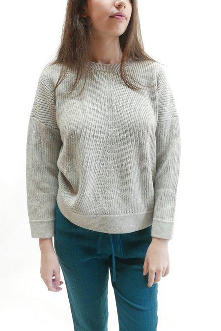 Elk Rand Sweater - Silver Grey