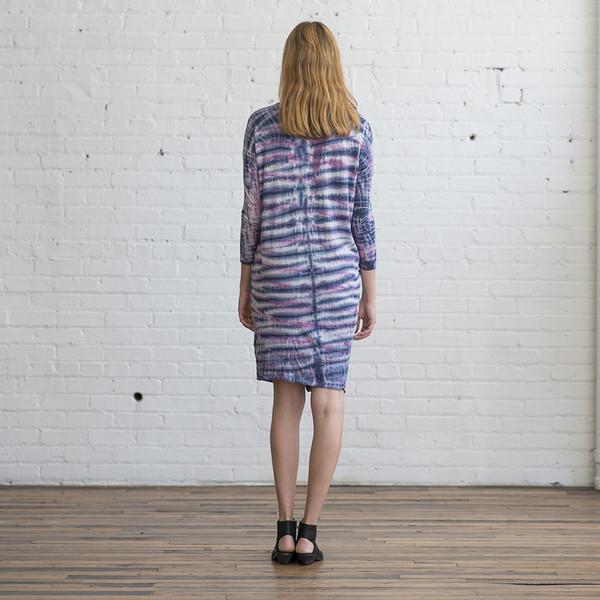Raquel Allegra Combo Long Sleeve Henley Dress - SOLD OUT