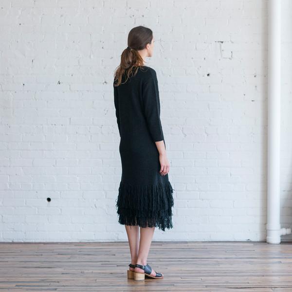Ulla Johnson Carissa Fringe Dress