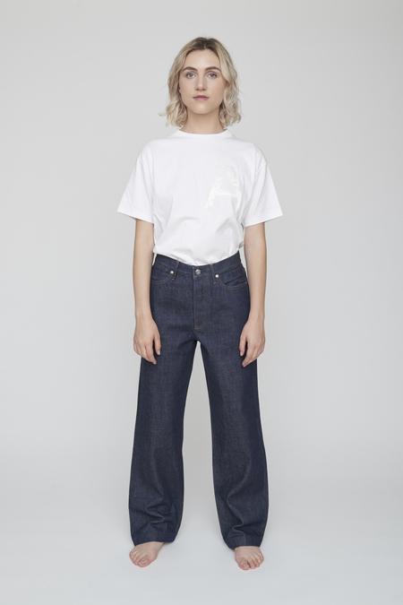Unisex Tanaka Dad Jean Trousers - Soft Rigid