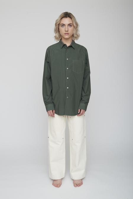 Unisex Tanaka Dad Shirt - Olive