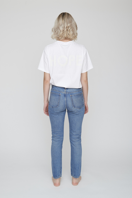 Unisex Tanaka Brother Jean Trousers - Mid Washed