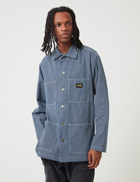 Stan Ray Shop Jacket - One Wash Hickory Blue