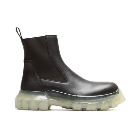 Rick Owens Bozo Tractor Beetle Boots - Black