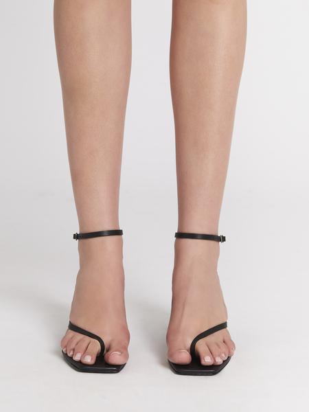 Camilla and Marc Quinn Mid Heel Sandal - black
