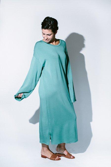 Corinne midi side-slits dress - Jade
