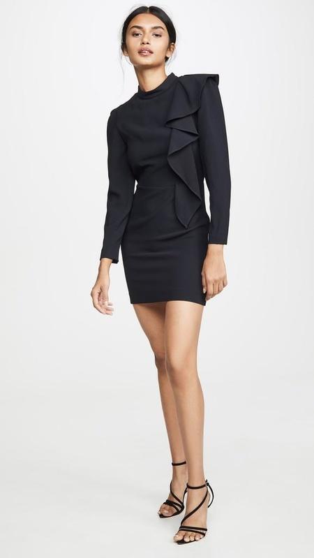 IRO DETEO DRESS - black