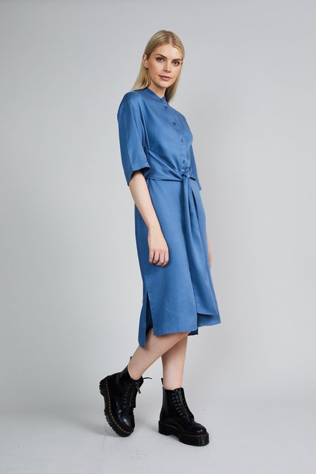 Native Youth The Isabelle Dress - Blue