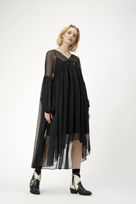 Just Female Bisou Dress - BLACK