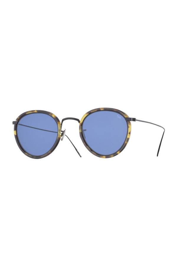 Eyevan7285 Acetate 717 Sunglasses - Blue