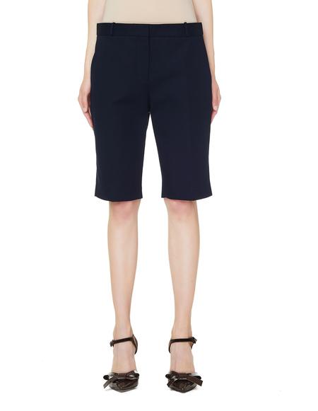 The Row Cotton Rosemary Shorts - Navy Blue