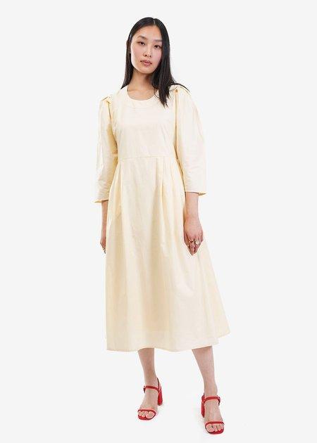 Wray Bardot Dress - Ivory