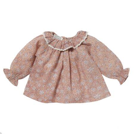 KIDS bonheur du jour pimprenelle blouse - pink