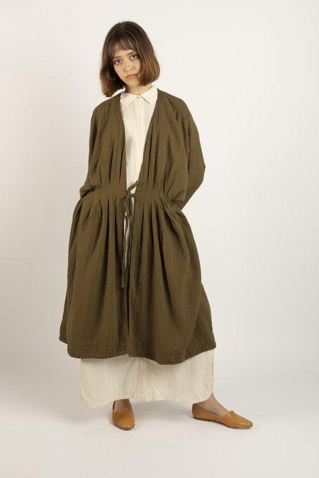 Atelier Delphine Zoe coat - kelp