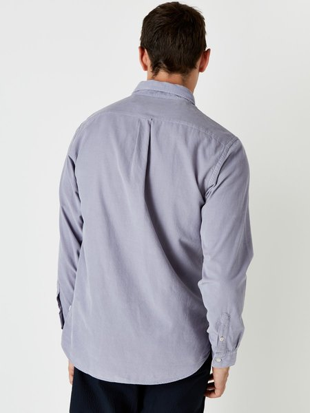 Wax London Bampton Tencel Shirt - Purple Ash