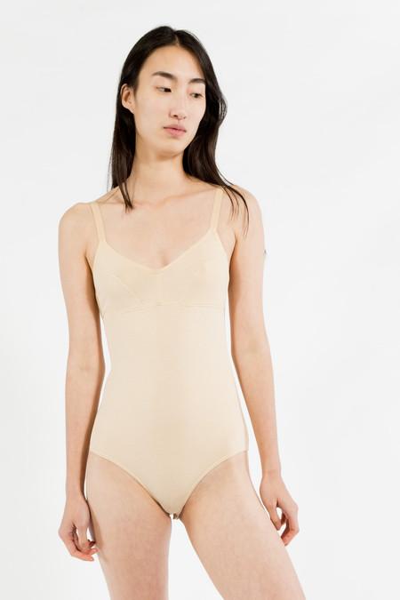 nude. Basic Bodysuit