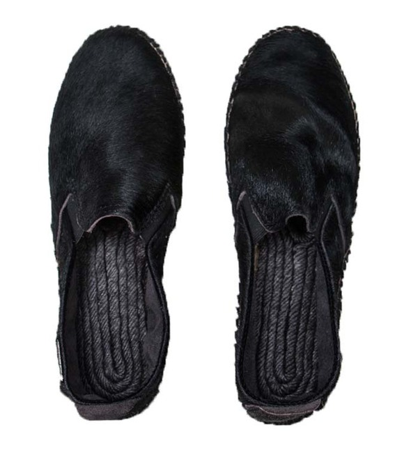 Prism Espadrilles  Black Pony Hair