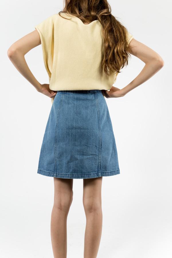 etre cecile Button Thru A Line Skirt