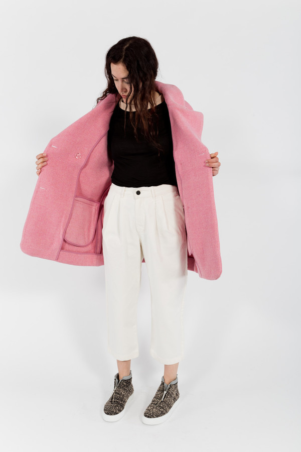 You Must Create Cocoon Coat