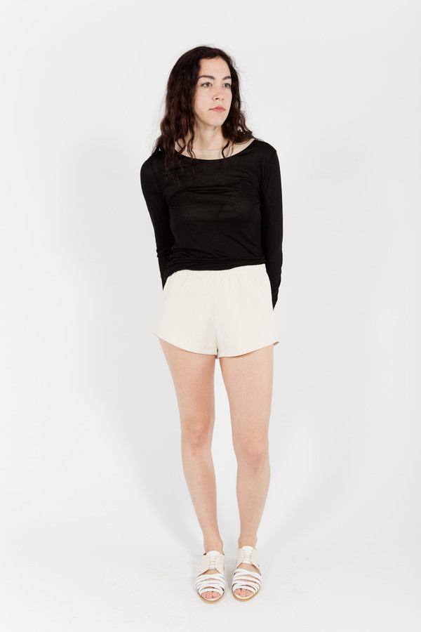 Baserange Cut Out Shorts