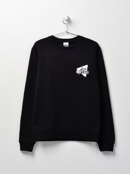 A.P.C. Sweat Abe H - BLACK