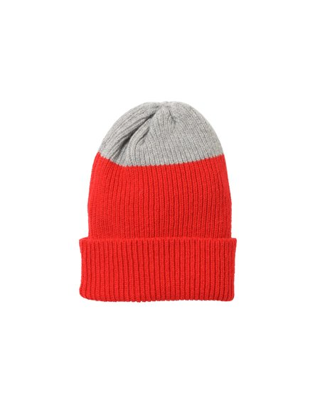 Country of Origin Top Tip Lambswool Hat - Red