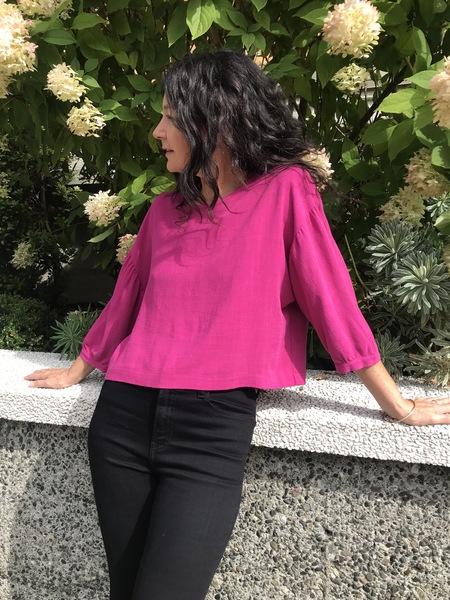 Eve Gravel Love Spy Top - pink