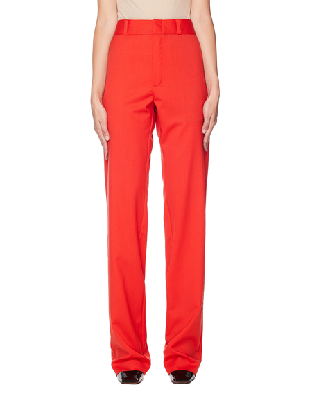 Vetements Wool Trousers - Red