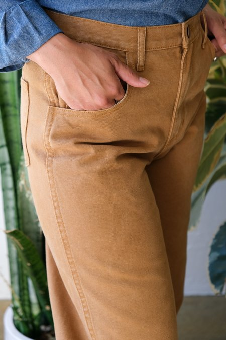 Carleen Relaxed Jeans - Wheat