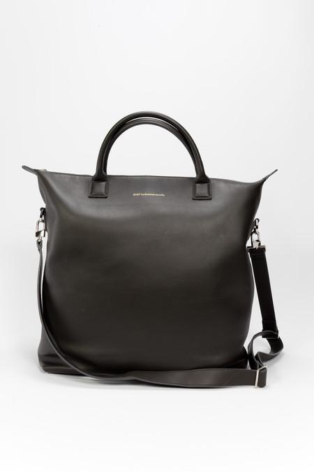WANT Les Essentiels de la Vie O`Hare Leather Shopper Tote Black