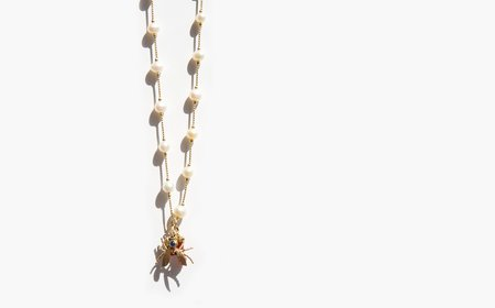 Vintage Kindred Black The Dance of the Bumblebee Necklace