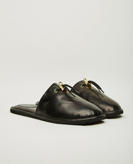 BUSCEMI Greenwich slippers - black