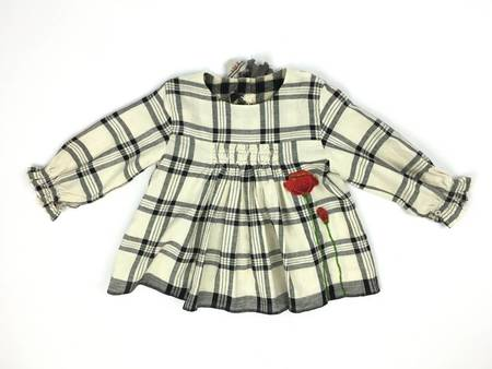 Kids Pero Poppy Anna Dress - Plaid