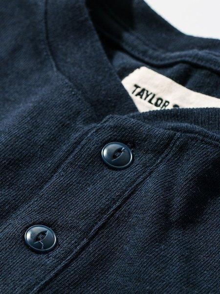 Taylor Stitch Heavy Bag Henley - Navy