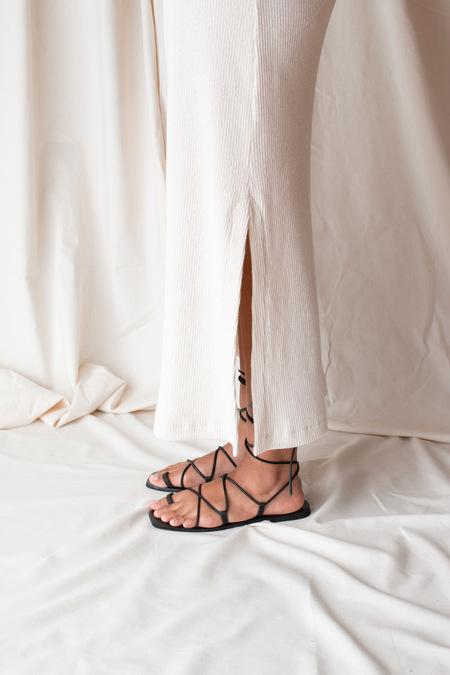 Nelson Made Julietta Sandals - Black