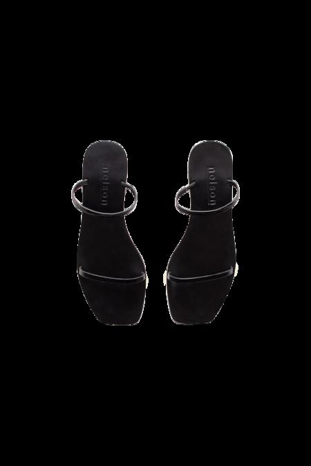Nelson Made Audrey Sandals - Black Croc