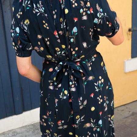 Caron Callahan Theos Jumpsuit - Cupro Floral Print