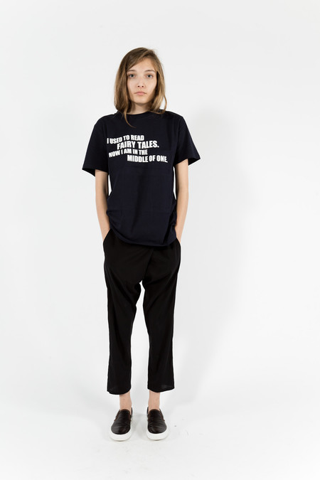 Alice at YMC SS Crewneck T Shirt