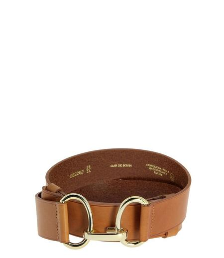HERBERT CHANZY 39MM BELT - CAMEL