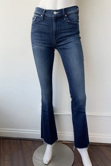 Mother Denim Weekender Flare Fray Jeans - Tongue and Chic